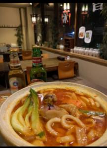 菜香楼鶏辛鍋