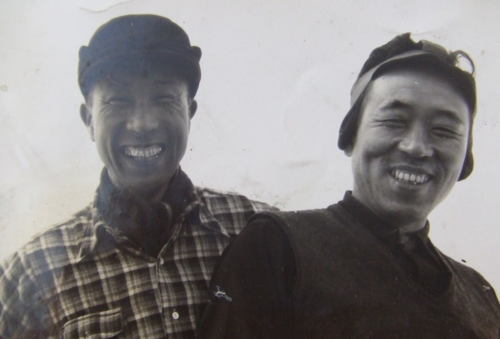 髙橋昴さん(左)と父・藤左衛門