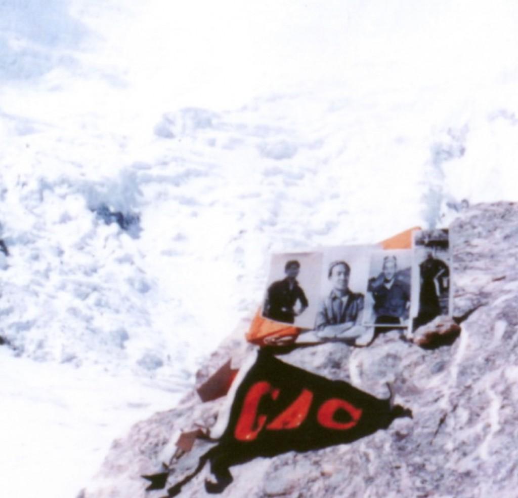 ヒマラヤの無名峰7170m直下にて鹿島槍ヶ岳遭難の山岳部員たちを悼む 1958年8月